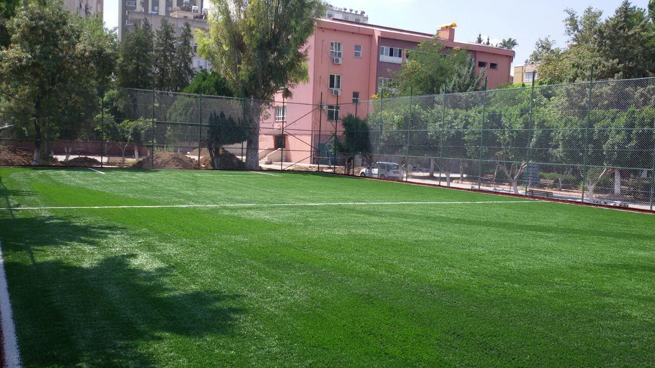 Adana Çobanoğlu Meslek Teknik Anadolu Lisesi Açık Halı Saha Uygulama | Kuzey Sports